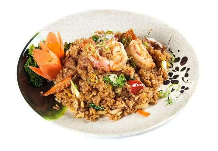 fried pork rice
