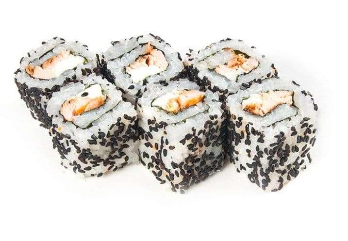 maki salmon and philadelphia