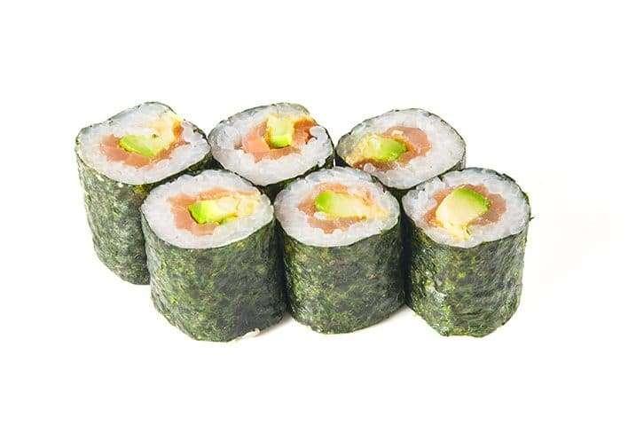 mini smoked salmon