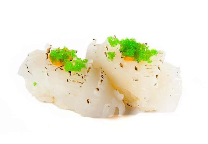nigiri squid tataki