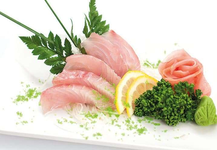 sashimi white fish