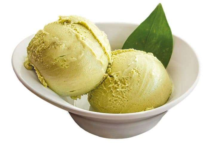 pistacchio ice cream