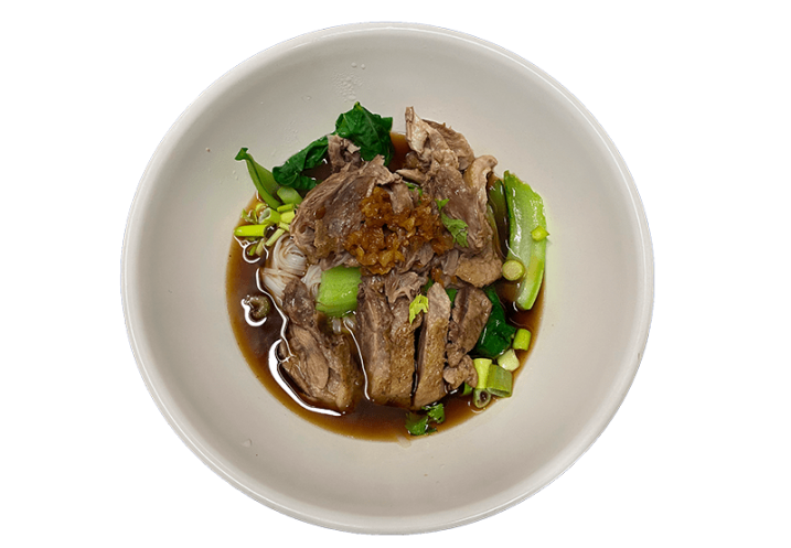 Duck Noodle with Soup