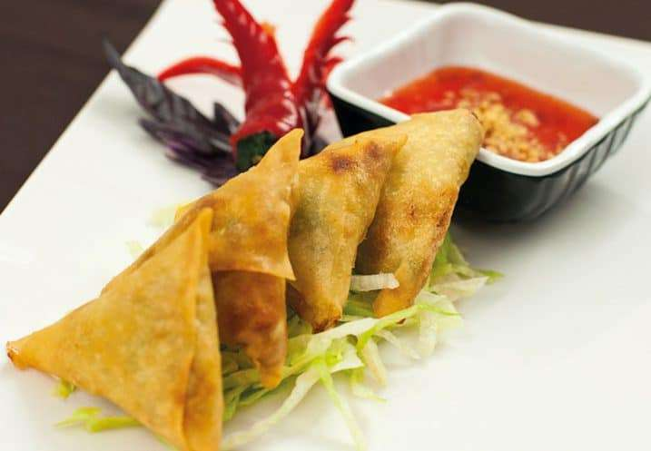 appetizer samosa