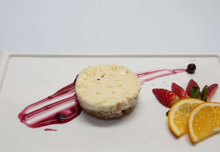 dessert cheese tart