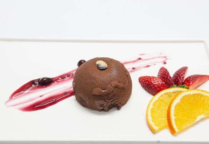 dessert chocolate mousse
