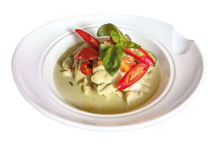 main green curry