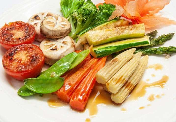 main grilled mix vegetables
