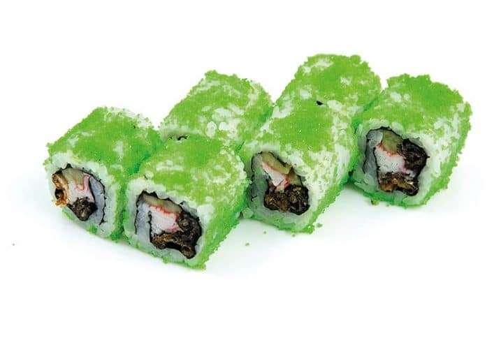 maki crispy salmon skin