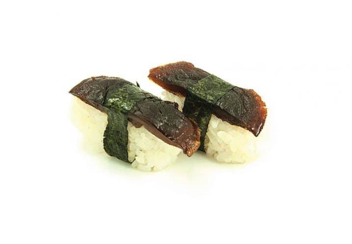 nigiri japanese mushroom