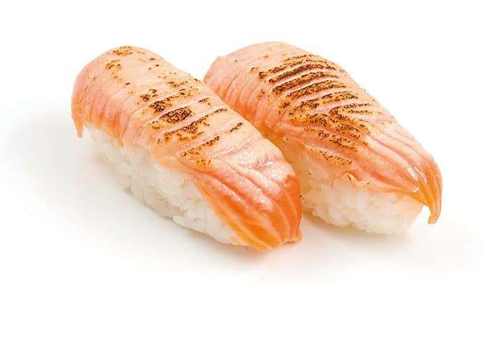 nigiri seared salmon