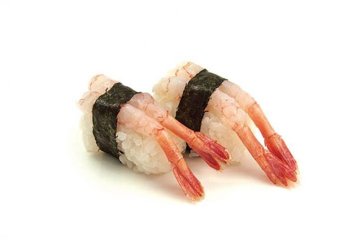 nigiri sweet shrimp