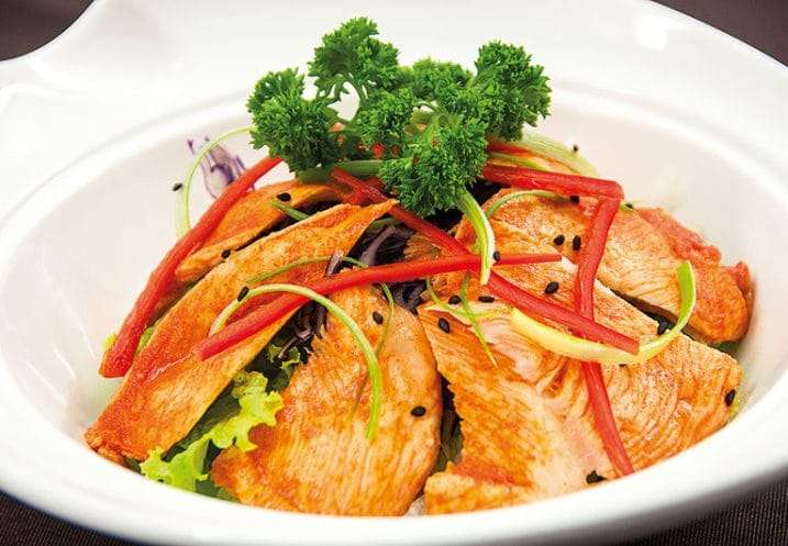 salad korean chicken
