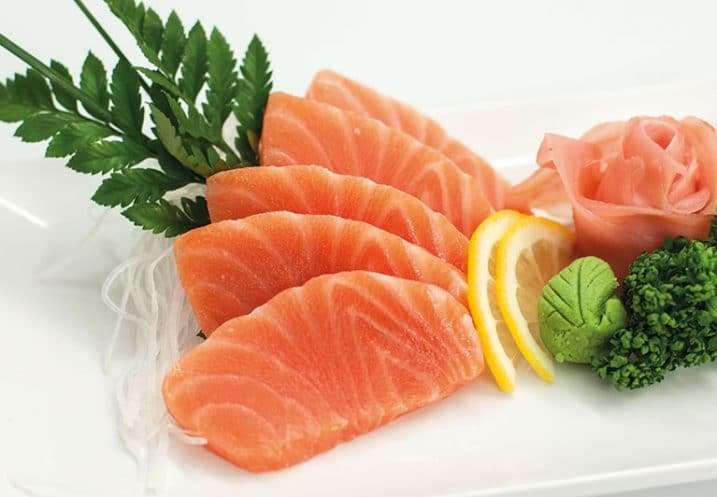 sashimi salmon