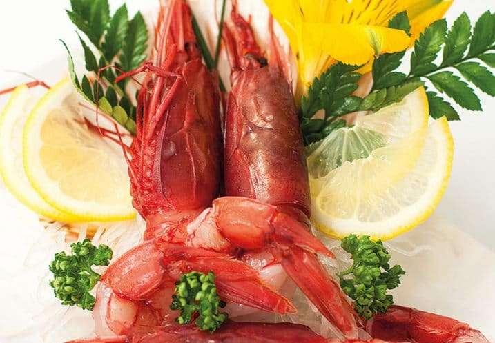 sashimi sweet prawn
