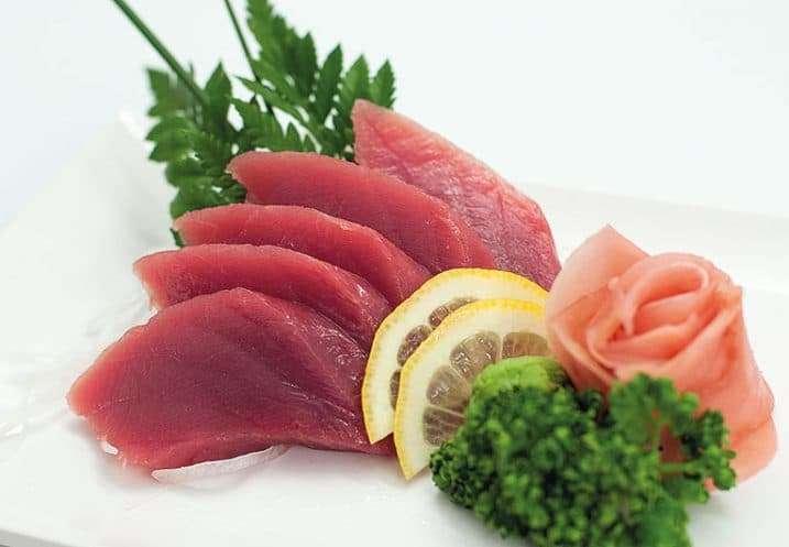 sashimi tuna