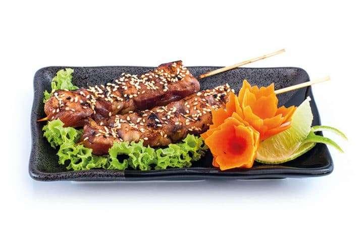 small dish chicken yakitoki