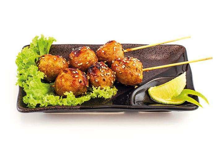 small dish chicken ball