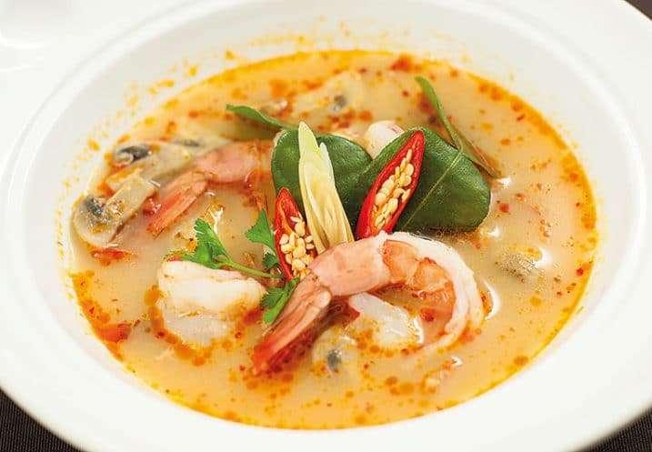 soup tom yum kong