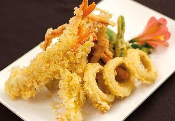 tempura mixed