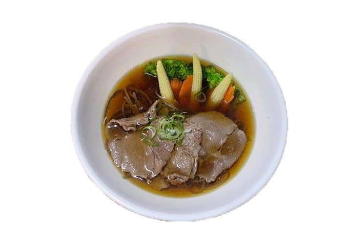 Beef Soba in Soup