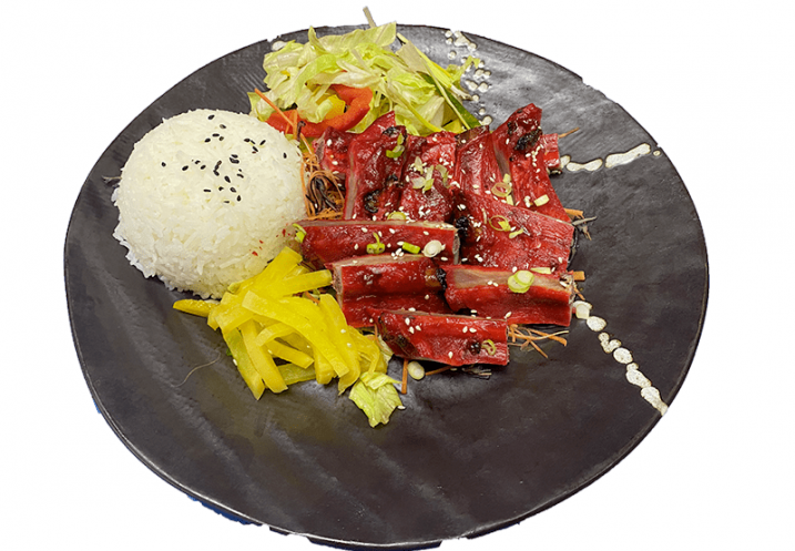Hong Kong SpareRibs with rice