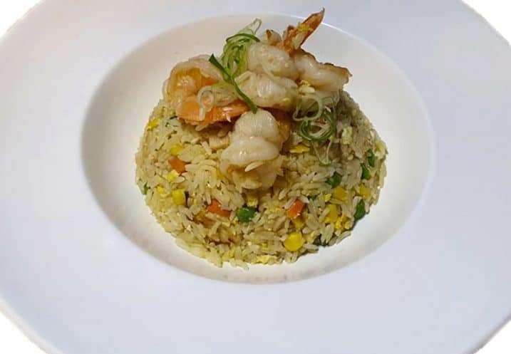 Teppan-fried Shrimp Rice