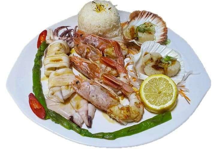 Teppanyaki Seafood