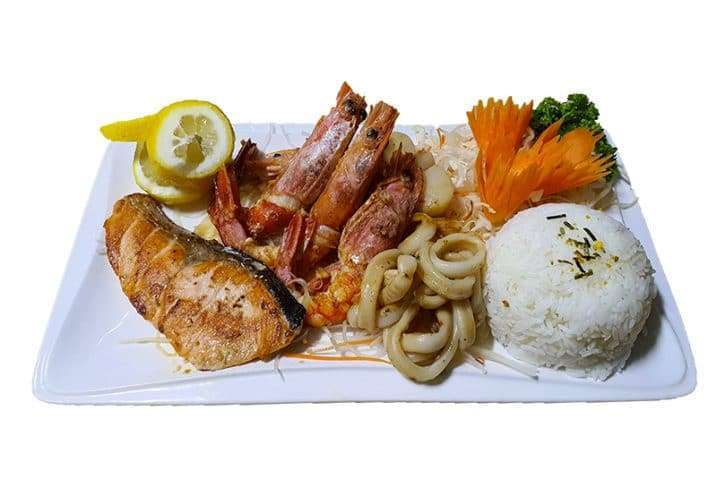 Teppanyaki Seafood Taste