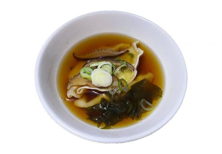 mixed mushrooms soup